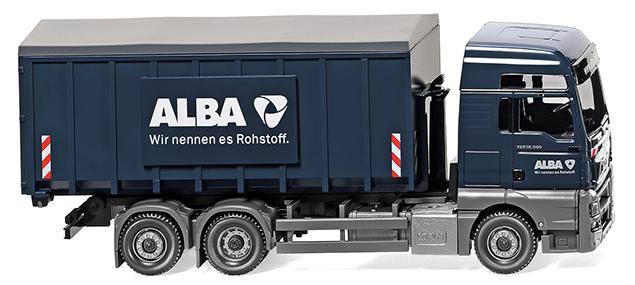 Wiking 067204 Abrollcontainer(Meiler/MAN TGX Euro 6)