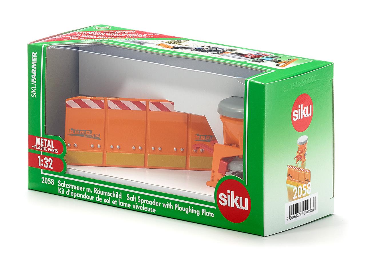 Siku 2058 Rauch Salzstreuer mit Bema Räumschild