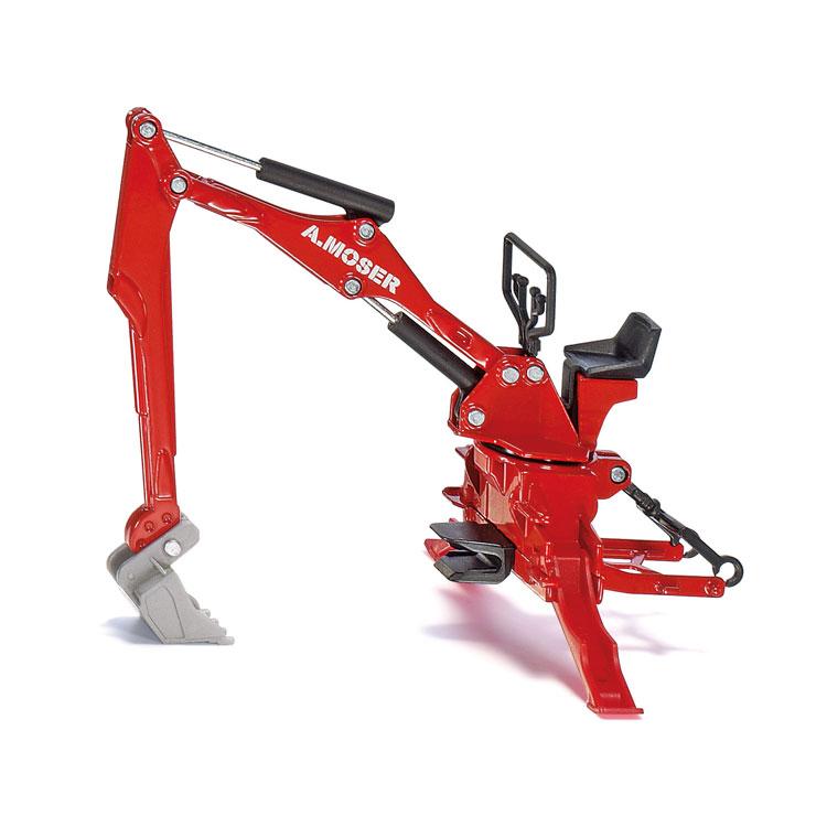 Siku 2066 Moser Heckbagger für Traktoren