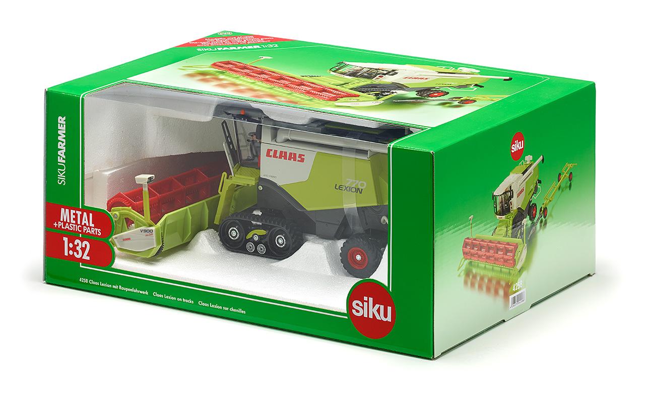 Siku  4064 Joskin Cargotrack mit Ladewagen