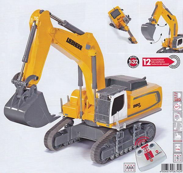 Siku Control 6740 Liebherr R980 SME Raupenbagger